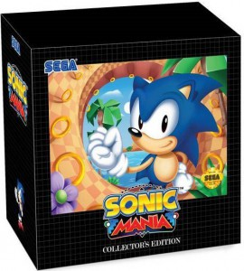 игра Sonic Mania Collectors Edition PS4