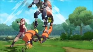 скриншот Naruto Shippuden Ultimate Ninja Storm Trilogy PS4 #9