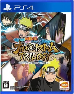 игра Naruto Shippuden Ultimate Ninja Storm Trilogy PS4