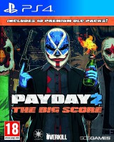 игра Payday 2 The Big Score PS4