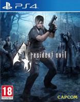 игра Resident Evil 4 HD PS4