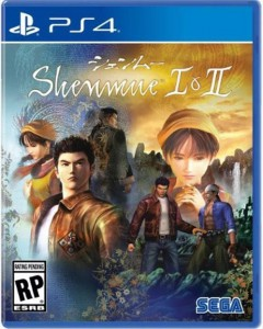 игра Shenmue 1 & 2 HD Remaster PS4