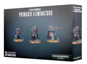Настольная игра Games Workshop 'Warhammer 40000:Primaris Lieutenant In Phobos Armour ' (English) (99070101045)
