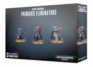 Настольная игра Games Workshop 'Warhammer 40000:Space Marines Primaris Eliminators  ' (English) (99120101260)