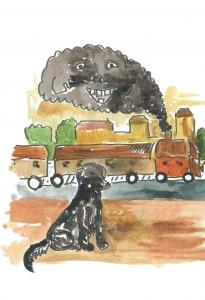 фото страниц Большая белая собака. Общительная сказка для детей и родителей #10