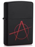 Зажигалка Zippo 'Black Matte Anarchy' (20842)