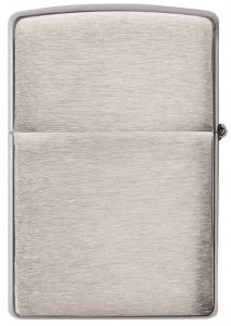 Зажигалка Zippo 'Brushed Chrome Heavy Wall Armor' (162)