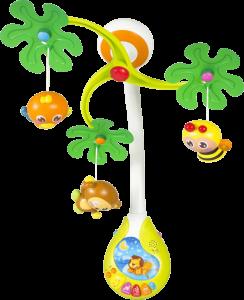 Музыкальный мобиль 'Веселый остров' Huile Toys