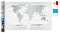 Подарок Скретч-карта мира Travel Map 'AIR World'