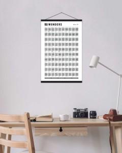 фото Скретч-постер #100 Wonders #7