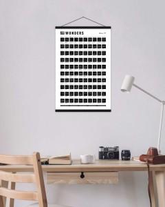 фото Скретч-постер #100 Wonders #6