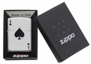 фото Зажигалка Zippo '250 Lucky Ace' (24011) #3