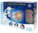 фото Мобиль музыкальный с проектором Infantino 3 в 1, розовый (004914I) #3