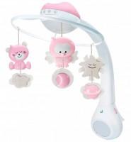 Мобиль музыкальный с проектором Infantino 3 в 1, розовый (004914I)