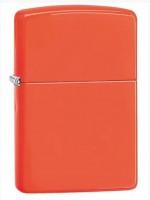 Зажигалка Zippo ' Reg Neon Orange Lighter' (28888)
