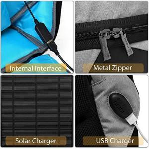 фото Рюкзак антивор UFT 'Solar Backpack' Black/Grey (UFTSBP1) #5