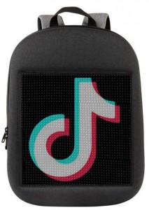 фото Рюкзак UFT 'LED Bag' со светодиодным экраном 15.6' Gray (UFTledbagGray) #2