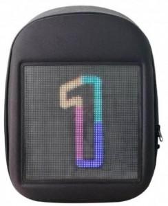 фото Рюкзак UFT 'LED Bag' со светодиодным экраном 15.6' Gray (UFTledbagGray) #4