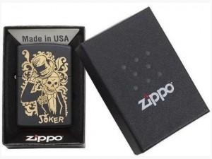 фото Зажигалка Zippo '218 Joker' черная (29632) #4