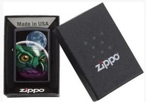фото Зажигалка Zippo 'Space Owl Design' (29616) #3