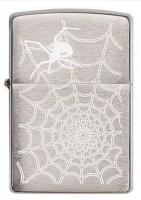 Зажигалка Zippo 'Spider Web Black Widow' (29534)