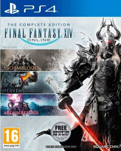 игра Final Fantasy XIV The Complete Edition PS4