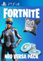 игра Fortnite Neo Versa Bundle 500 V-баксов PS4