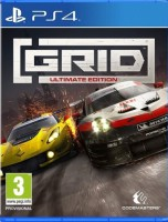 игра Grid Ultimate Edition PS4
