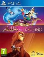 игра Disney Classic Games Aladdin & The Lion King PS4