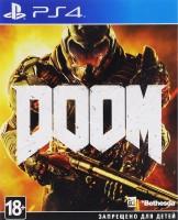 игра Doom  PS4 - Русская версия