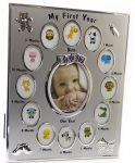 Подарок Фоторамка на 13 фото 'Альбом новорожденного' (DN32379)
