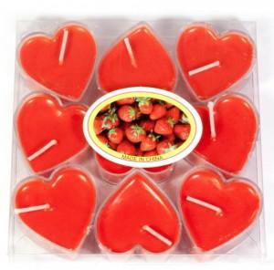 Подарок Подарочный набор свечей-сердечек, 9 шт. (DN30863)