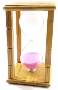Подарок Часы песочные 'Time Is Money', бамбук (DN29765A)