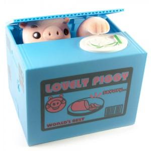 Подарок Интерактивная копилка 'Свинка-воришка' (DN29756A)