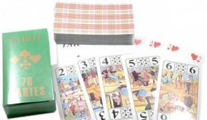 Подарок Набор игральных карт для игры в тарок Duke Tarot, 78 карт (DN29753)
