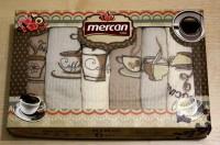 Набор из 6 полотенец Mercan (кофе 6)