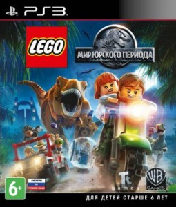 игра LEGO Jurassic World PS3 -  русская версия
