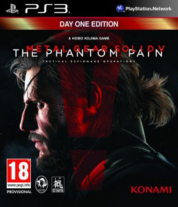 игра Metal Gear Solid 5 The Phantom Pain Day 1 Edition PS3 - русская версия