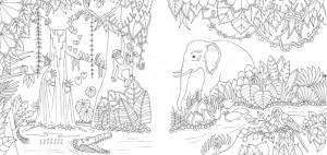 фото страниц Удивительные джунгли. Книга для творчества и вдохновения #4
