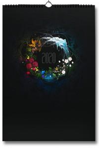 Книга Авторский настенный календарь на 2020 г 'Ожившие месяцы'