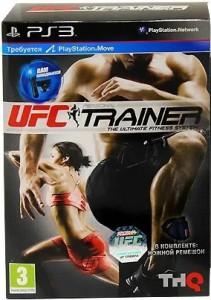 игра UFC Personal Trainer PS3 + Ремень