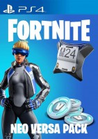 игра Fortnite Neo Versa Bundle 2000 V-баксов PS4