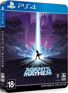 игра Agents of Mayhem  PS4 - Русская версия