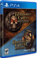 игра Baldurs Gate Enhanced Edition (Baldurs Gate 1 & 2) PS4 - русская версия
