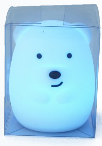 Силиконовый ночник детский Click 'Ночные зверята. Медвежонок', 8 см (CLK-G01110)