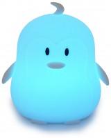 Силиконовый ночник детский Click 'Ночные зверята. Пингвин', 12 см (CLK-G01212)