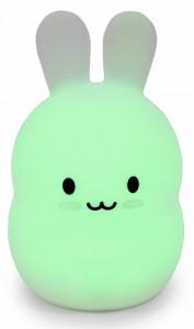 Силиконовый ночник детский Click 'Ночные зверята. Зайчик', 14 см (CLK-G01211)