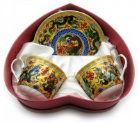 Чайный сервиз 'Драконы', фарфор (DN18672)