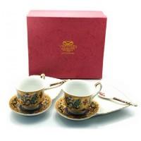 Чайный сервиз 'Драконы', фарфор (DN23130)