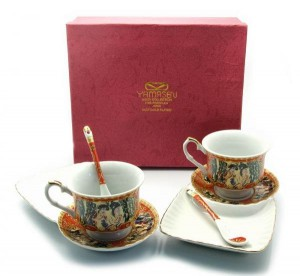Чайный сервиз, фарфор (DN23127)